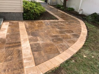 GM Mason Large Paver Walkway