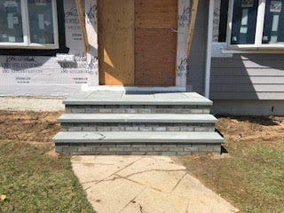 GM Masons Brick and Bluestone Stoop