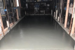 GM Mason Concrete slab for basement