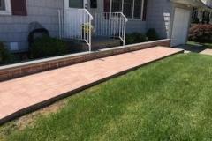 GM Mason Front Brick Walkway