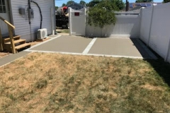 GM Mason small concrete patio