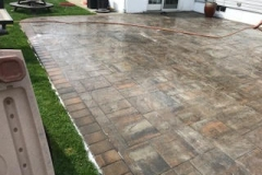 GM Masons Big Large Paver Backyard Patio