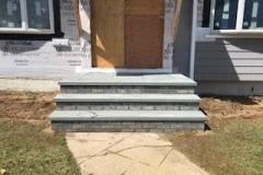 GM Masons Brick and Bluestone Stoop