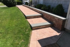 GM Masons Paver Bluestone steps and walkway