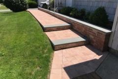 GM Masons Paver Bluestone steps and walkway