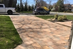 GM Masons Wide Paver Walkway Installation